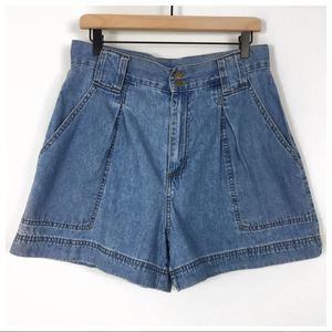 Made In The Shade Vintage High Rise Mom Shorts